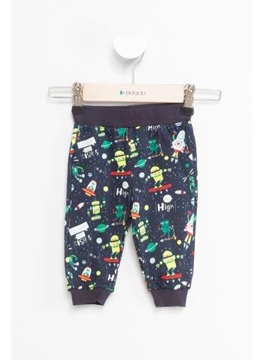 DeFacto Erkek Bebek 2'li Pijama Altı Gri